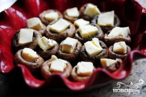 Запеченные грибы с сыром бри - фото шаг 3