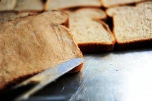 Вкусные гренки из белого хлеба - фото шаг 4