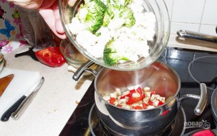 Овощное рагу со сливками - фото шаг 2