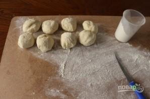 Хычины с картошкой - фото шаг 3