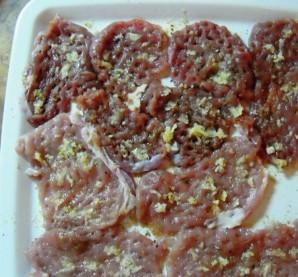 Телятина с помидорами - фото шаг 2
