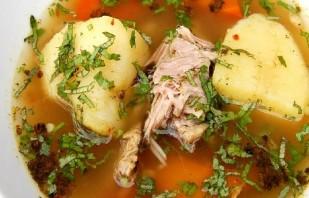 Суп из баранины и картофеля - фото шаг 7