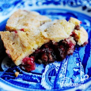 Клюквенный пирог - фото шаг 16