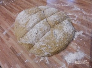 Морковный хлеб на полбяной муке - фото шаг 4