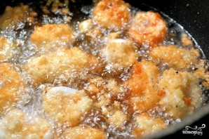 Кальмары, жаренные в сухарях - фото шаг 7