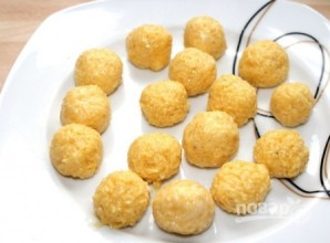 Сырные клецки для супа - фото шаг 4