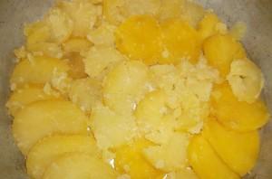Картофельная запеканка с капустой - фото шаг 3