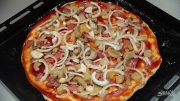 Пицца по-домашнему в духовке - фото шаг 3