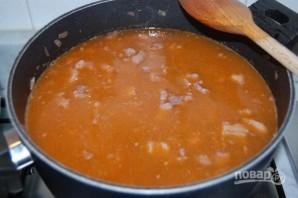 Зимний суп с мясом - фото шаг 6