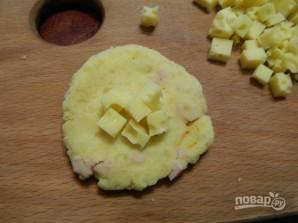 Картофельные шарики с ветчиной и сыром - фото шаг 5