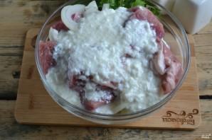 Маринад для шашлыка из свинины с кефиром - фото шаг 4
