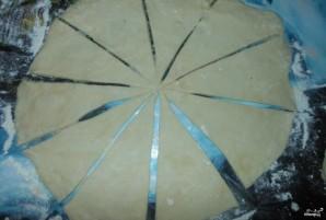 Постные рогалики - фото шаг 2
