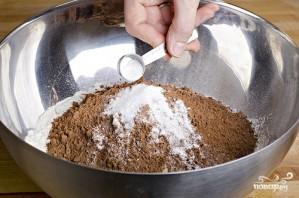 Шоколадный кекс без яиц - фото шаг 1