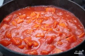 Томатный суп с тыквой - фото шаг 4
