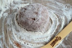 Шоколадно-кокосовые сочники - фото шаг 5