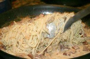 Паста с колбасой - фото шаг 4