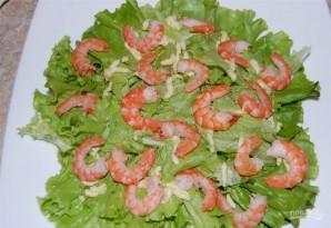 Салат с креветками и помидором - фото шаг 11