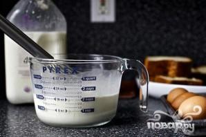Французские тосты крем-брюле - фото шаг 2