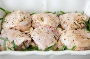Куриное мясо, запеченное с травами и картофелем - фото шаг 5