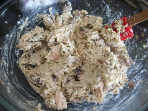 Макароны, фаршированные курицей и грибами - фото шаг 2