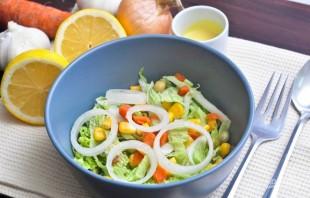Салат с курицей и пекинской капустой - фото шаг 1