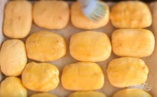 Пирожки с яблоками и тыквой в духовке - фото шаг 8