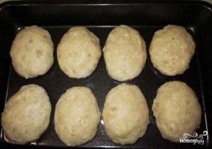 Котлеты из куриного фарша в духовке - фото шаг 3