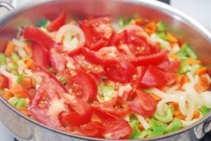 Жаркое из баранины с овощами   - фото шаг 7