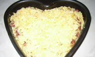Пирог с фасолью - фото шаг 7