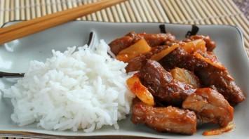 Свинина по-китайски с ананасами - фото шаг 8