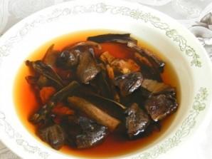 Грибной суп из сушеных грибов в мультиварке - фото шаг 1