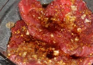 Говядина с горчицей в духовке - фото шаг 3