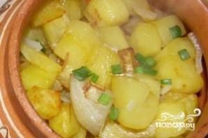 Картофель с луком - фото шаг 5