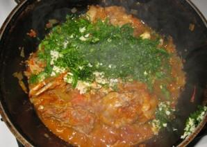 Баранина в томатном соусе - фото шаг 8