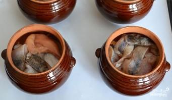 Рыба в горшочке с картошкой - фото шаг 4