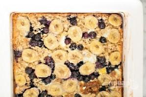 Овсяный пирог с бананами и черникой - фото шаг 5