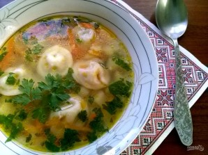 Бабушкин суп с пельменями - фото шаг 9