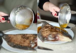 Камбала в духовке в фольге - фото шаг 3