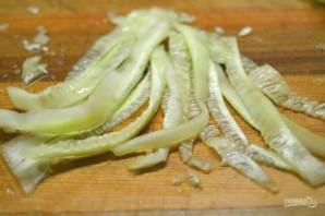 Диетический салат из моркови и огурца - фото шаг 3