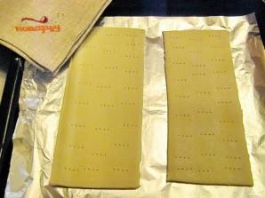 Торт из слоеного теста со сгущенкой - фото шаг 2