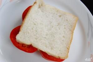 Бутерброд с помидорами - фото шаг 4