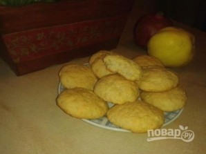 Постное яблочное печенье - фото шаг 9