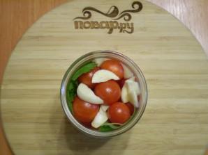Закатка помидоров с лимонной кислотой - фото шаг 4