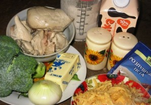 Пирог с курицей и брокколи - фото шаг 1
