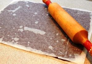Шоколадное песочное печенье - фото шаг 3