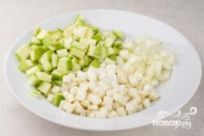 Суп из кабачков - фото шаг 1
