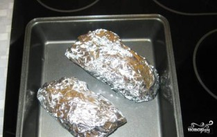 Фаршированные перепела в духовке - фото шаг 6