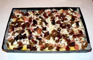 Картофель с мясом и грибами - фото шаг 6