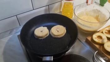Яблоки в медовом кляре - фото шаг 3