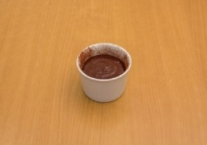 Шоколадный флан - фото шаг 8